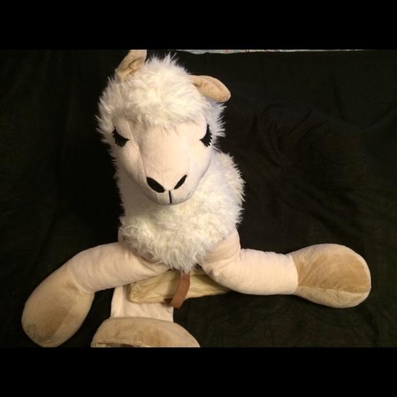 Llama ride on plush costume toddler 18+ months NWT